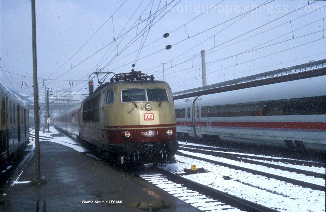 103 173-1 DB à Ulm (D)
