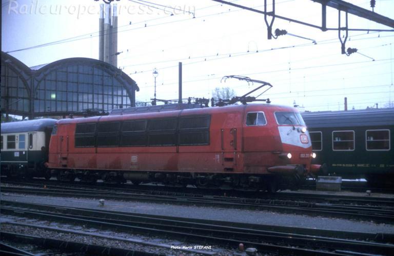 103 210-1 DB à Basel (CH)