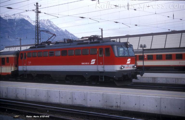 1042 612-0 OBB à Innsbruck (A)