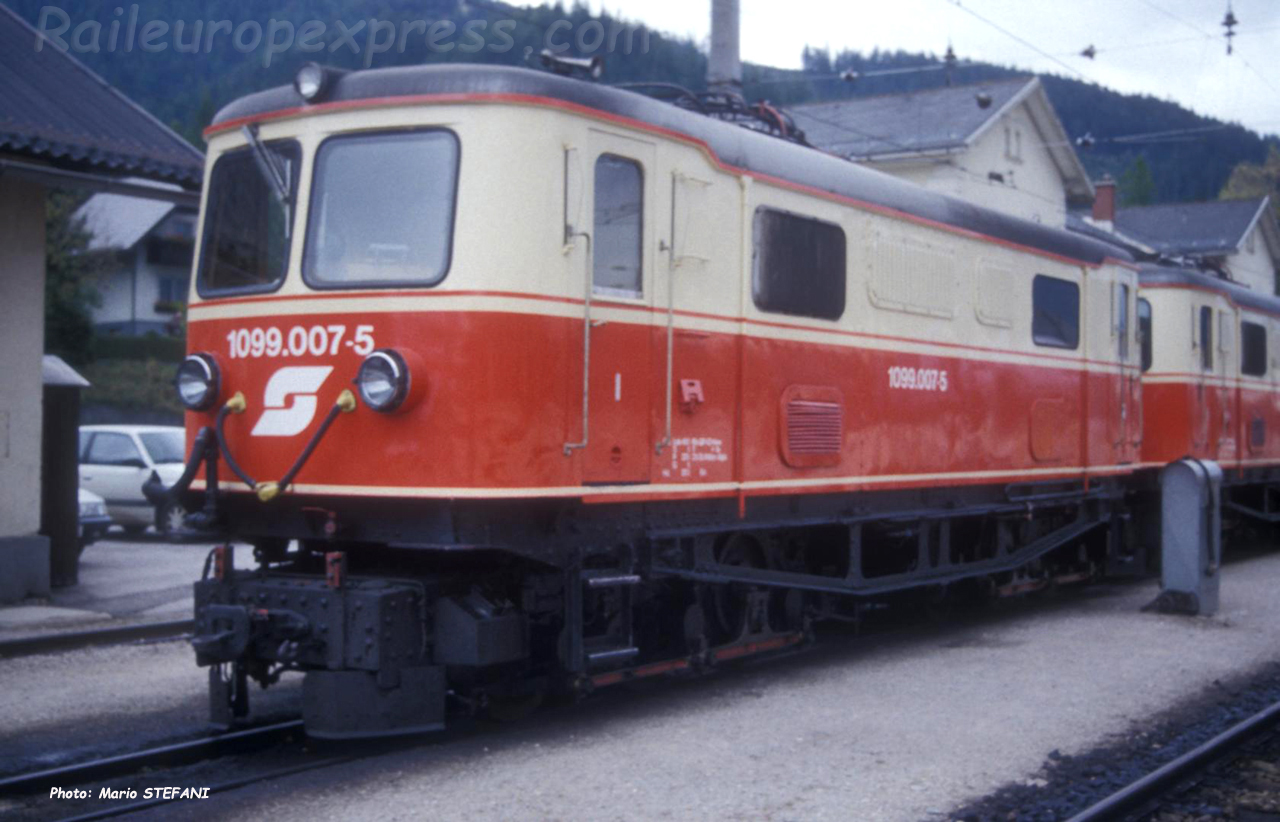 1099 007-5 OBB à Mariazell (A)