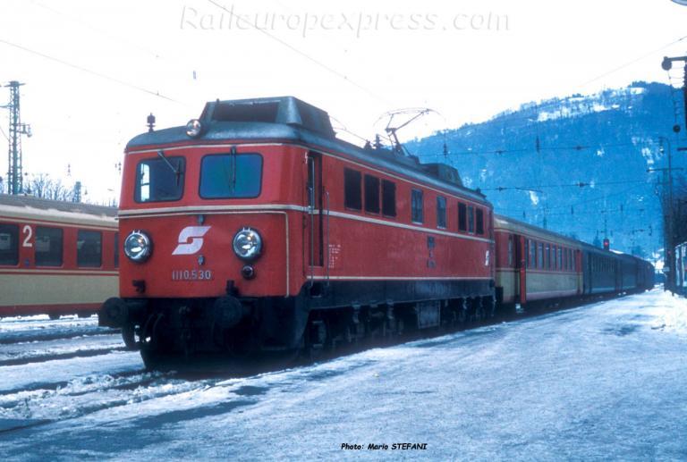 1110 530 OBB à Bregenz (A)