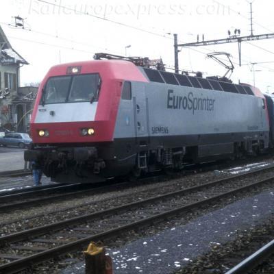 127 001-6 à Kerzers (CH)