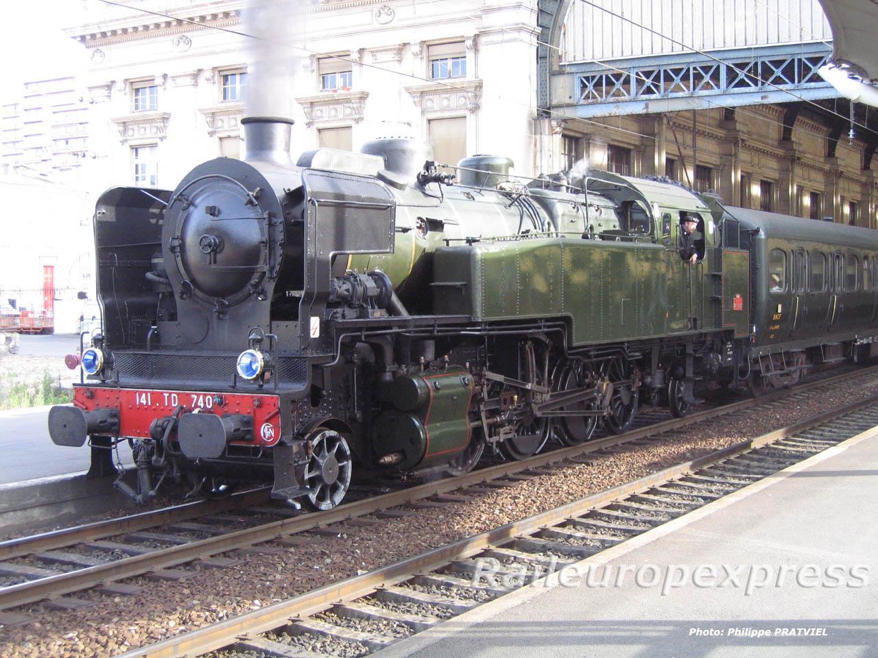 141 TD 740 à Bordeaux St Jean 1
