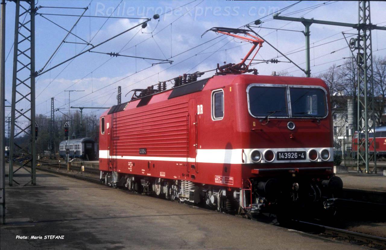 143 926-4 DR à Singen (D)