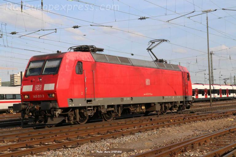 145 011-3 DB à Basel (CH)