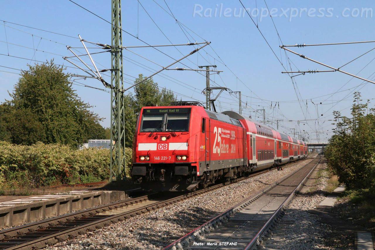 146 221-7 à Müllheim (D)