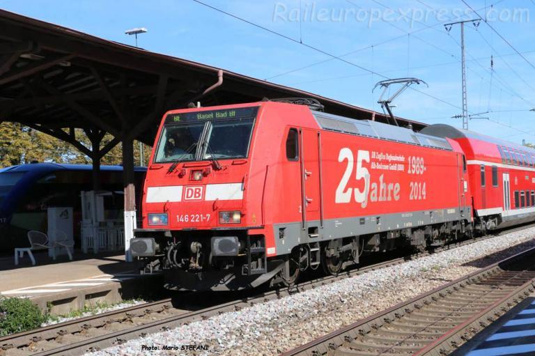 146 221-7 DB à Müllheim (D)