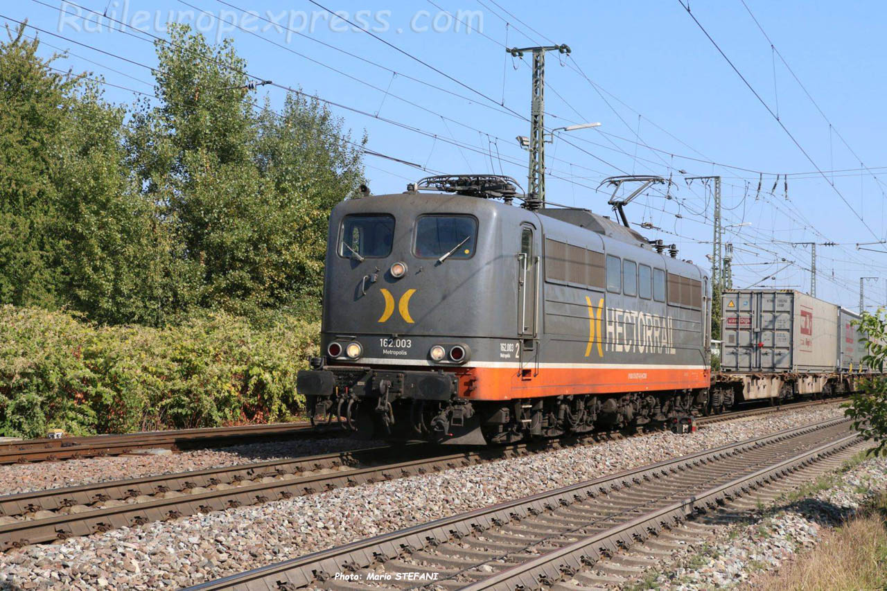 162 003 Hectorrail à Müllheim (D)