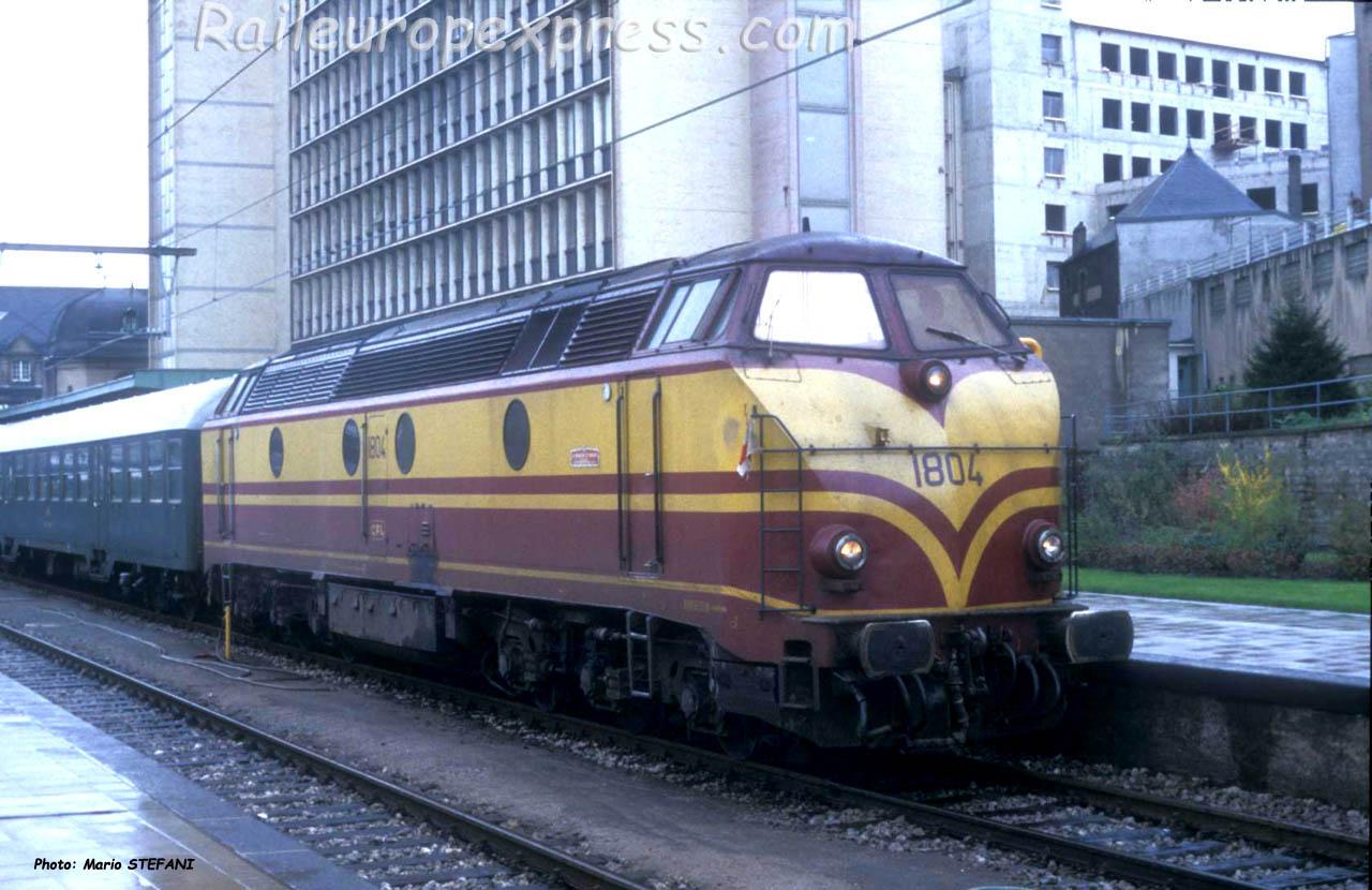 1804 CFL à Luxembourg (L)