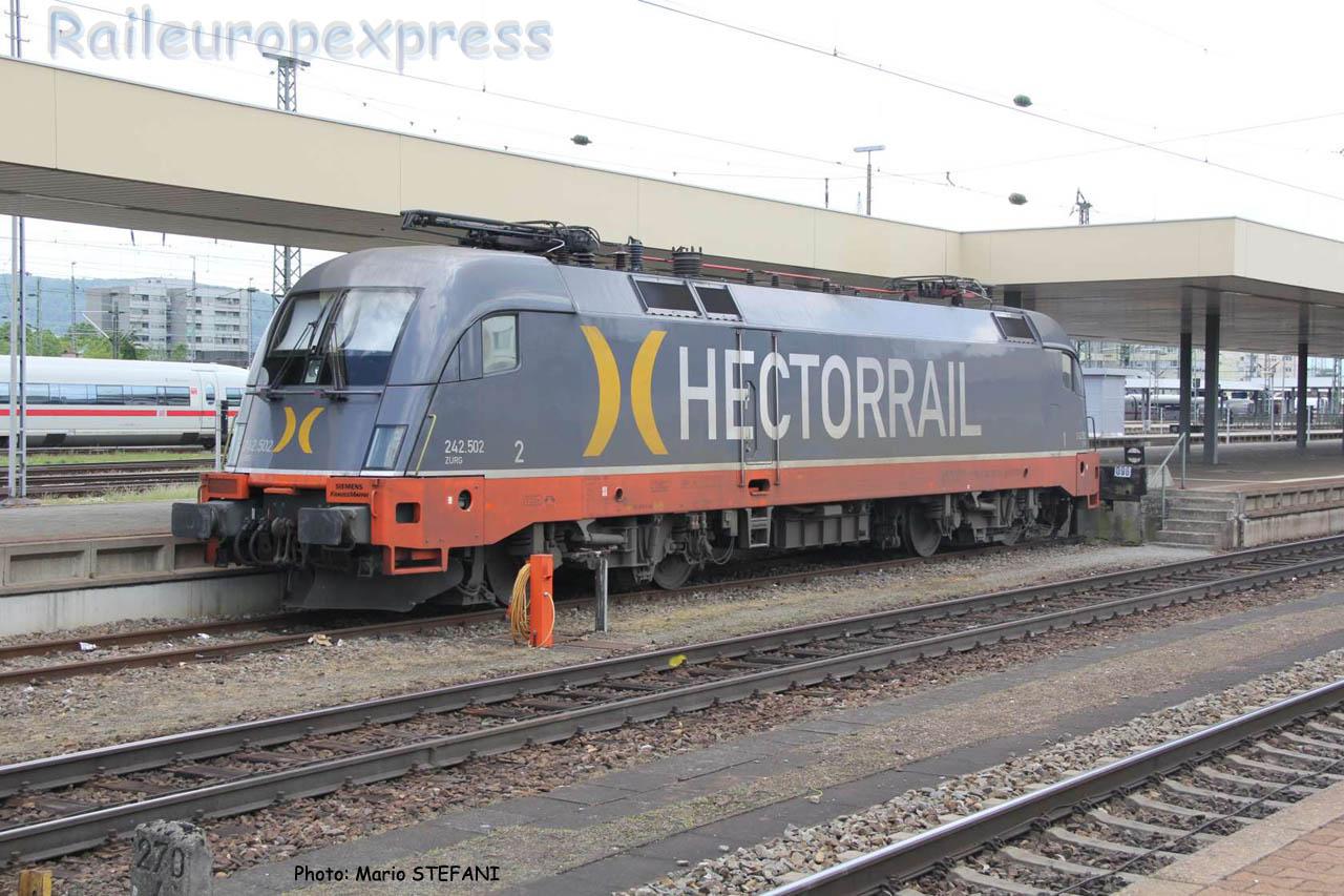 242 502 Hectorrail à Basel (CH)