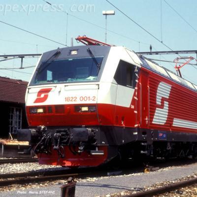 1822 001-2 OBB à Thun (CH)