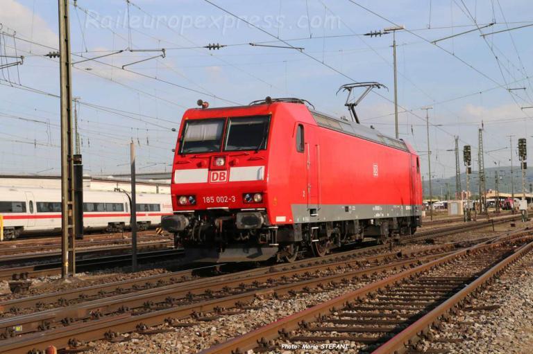 185 002-3 DB à Basel (CH)