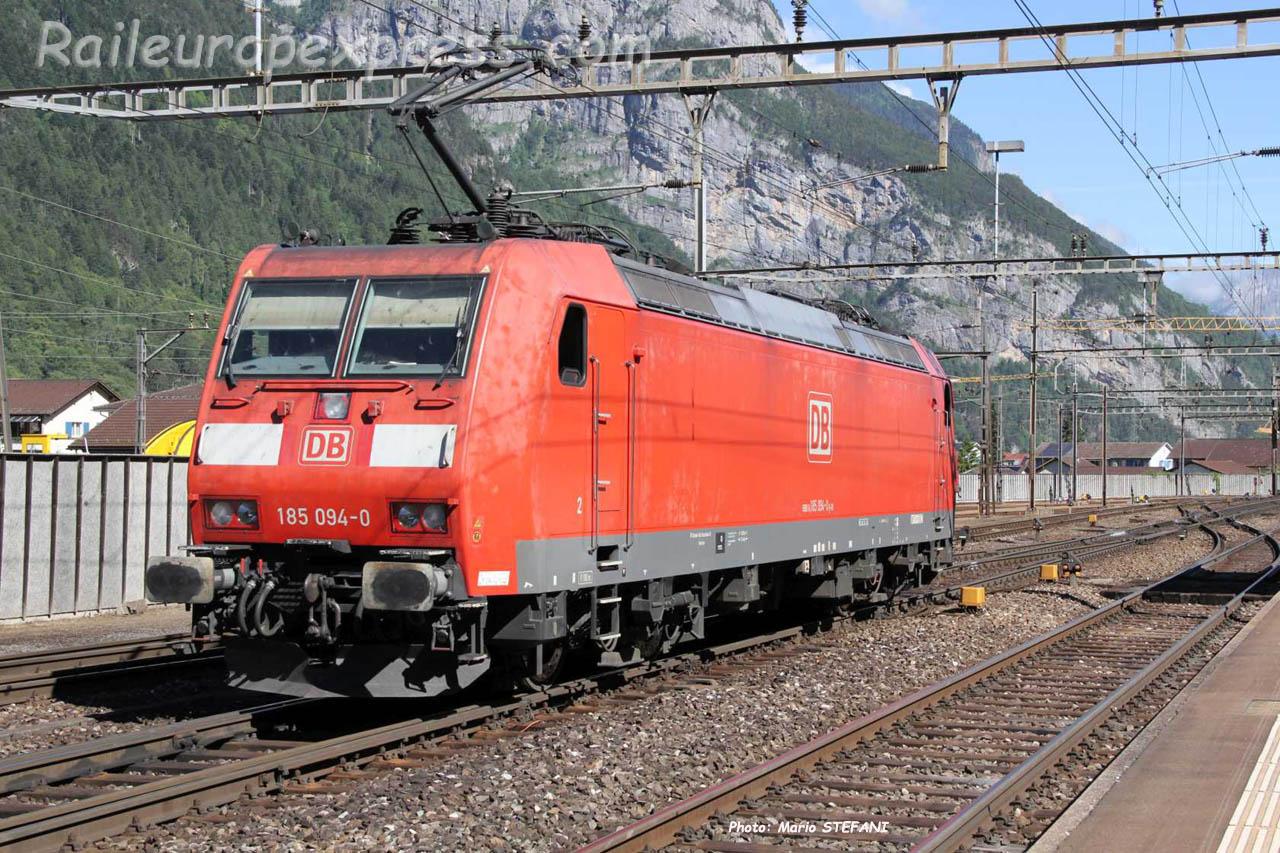 185 094-0 DB à Erstfeld (CH)