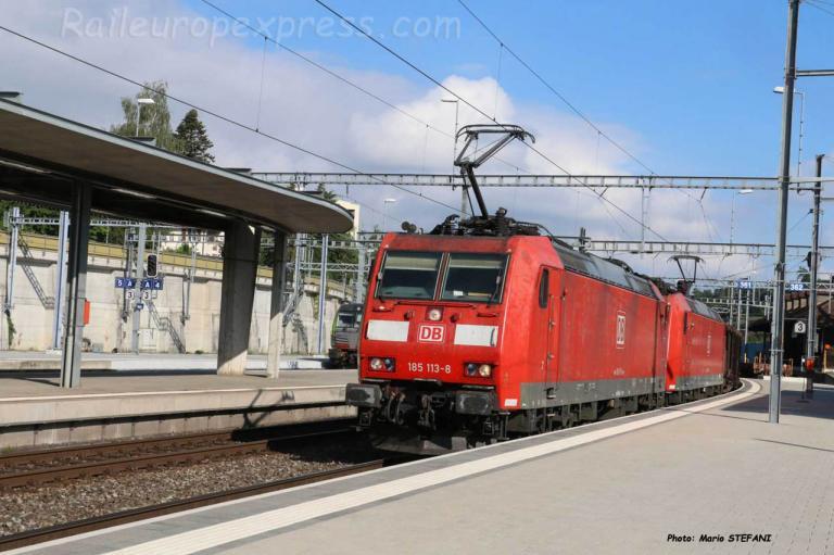 185 103-8 DB à Spiez (CH)