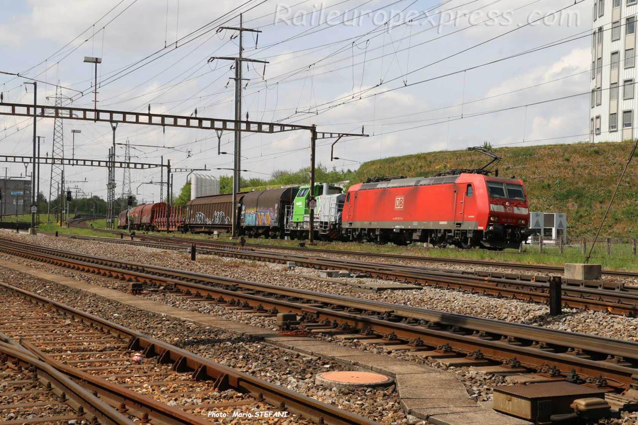 185 123-7 DB à Pratteln (CH)
