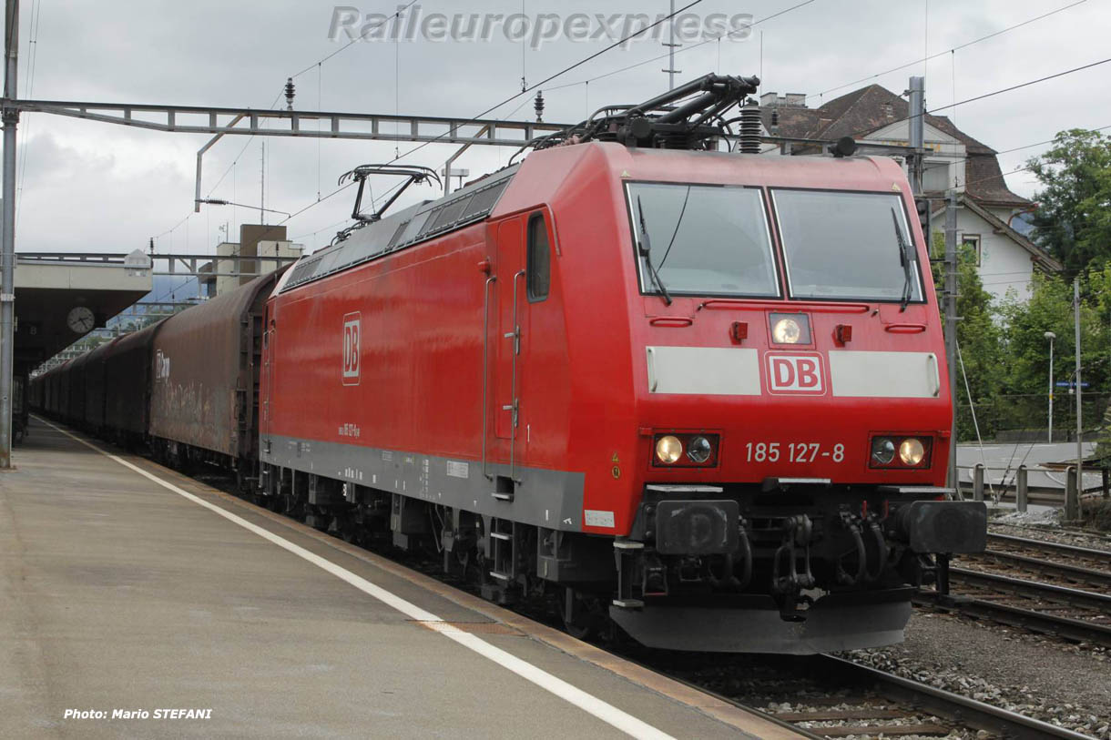 185 127-8 DB à Arth-Goldau