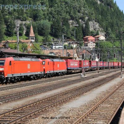 185 128-6 DB à Göschenen (CH)