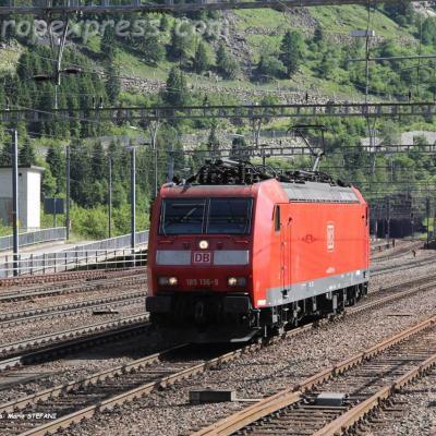 185 136-9 DB à Göschenen (CH)