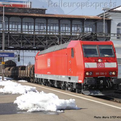 185 139-3 DB à Arth Goldau (CH)