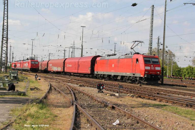 185 181-5 DB à Basel (CH)