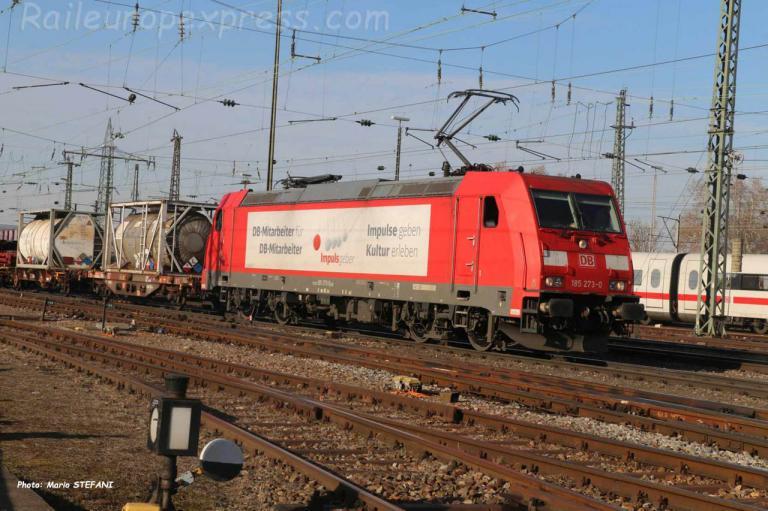 185 273-0 DB à Basel Bad (CH)