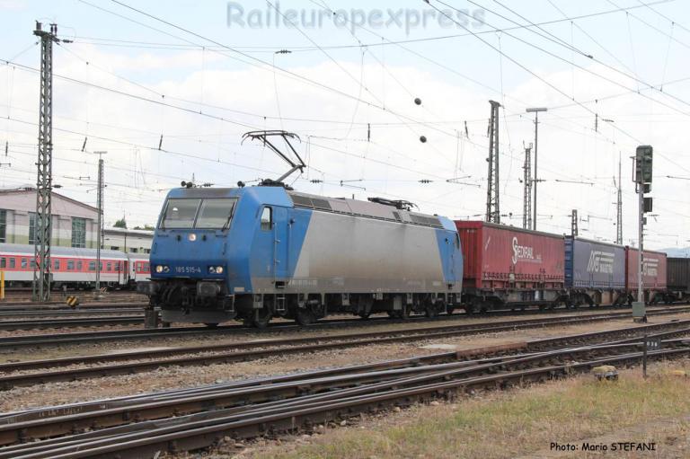 185 515-4 Crossrail à Basel (CH)