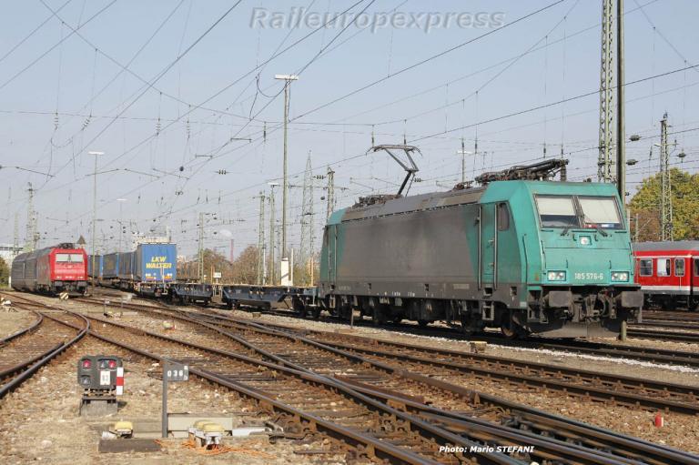 185 576-6 Crossrail à Basel (CH)