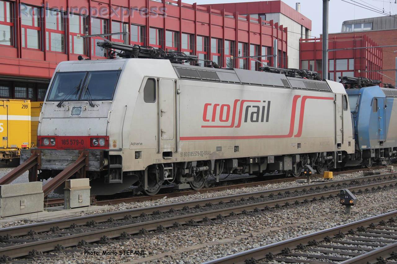 185 579-0 Crossrail à Thun (CH)
