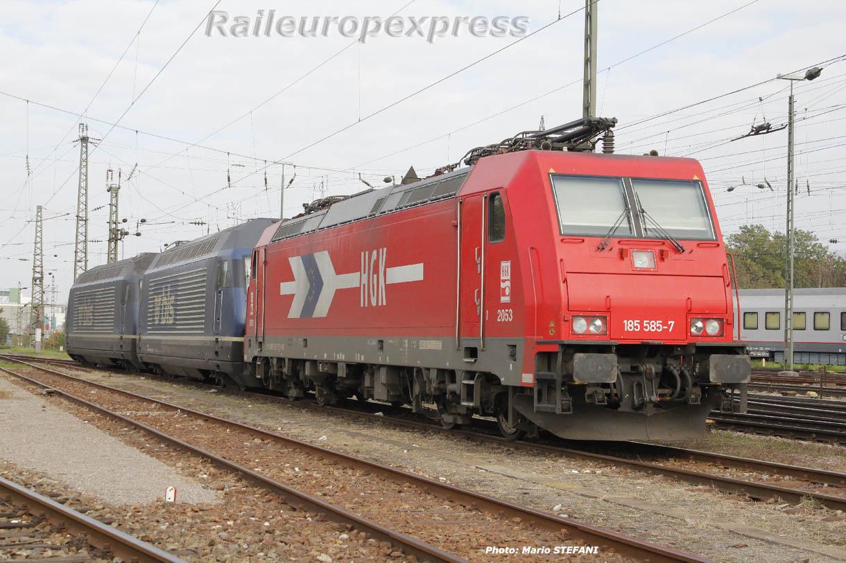 185 585-7 HGK à Basel