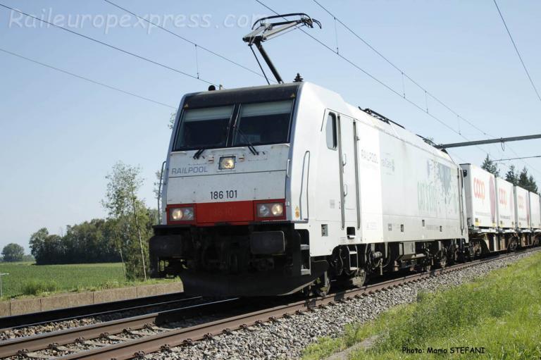 186 101 Railpool à Boudry (CH)