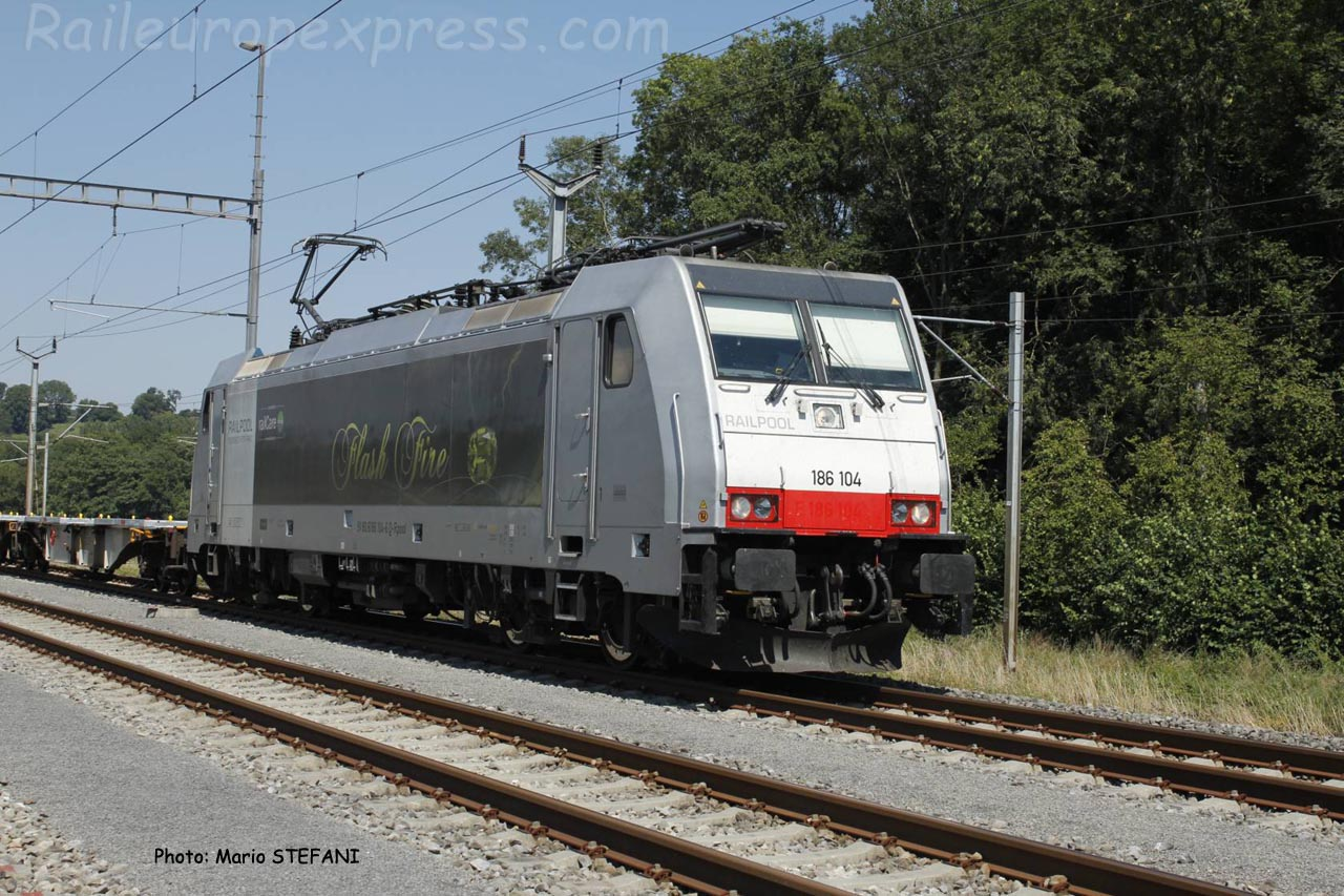 186 104 Railpool à Vufflens la Ville (CH)