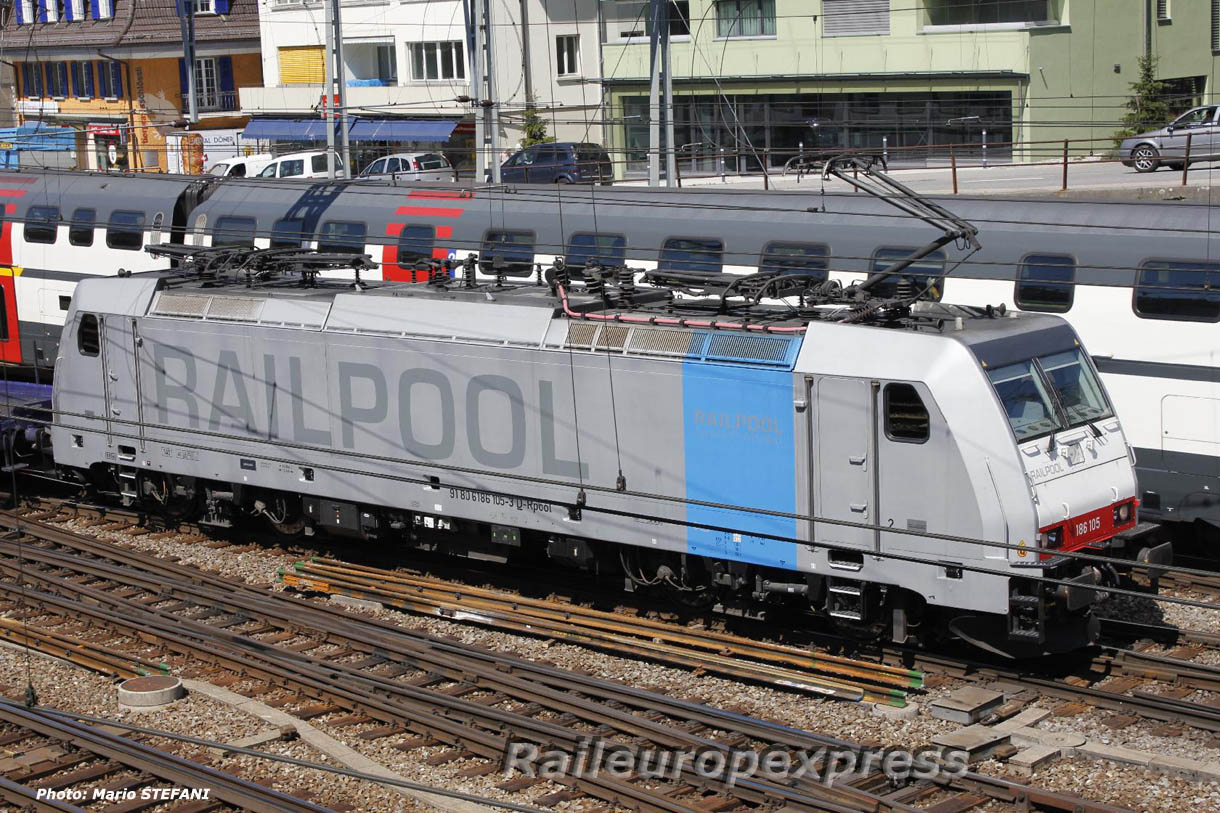 186 105-3 Railpool à Spiez