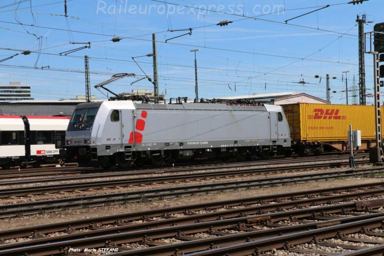 186 387-7 AKIEM à Basel Bad (CH)