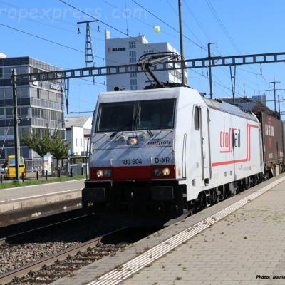 186 904 Crossrail à Pratteln (CH)