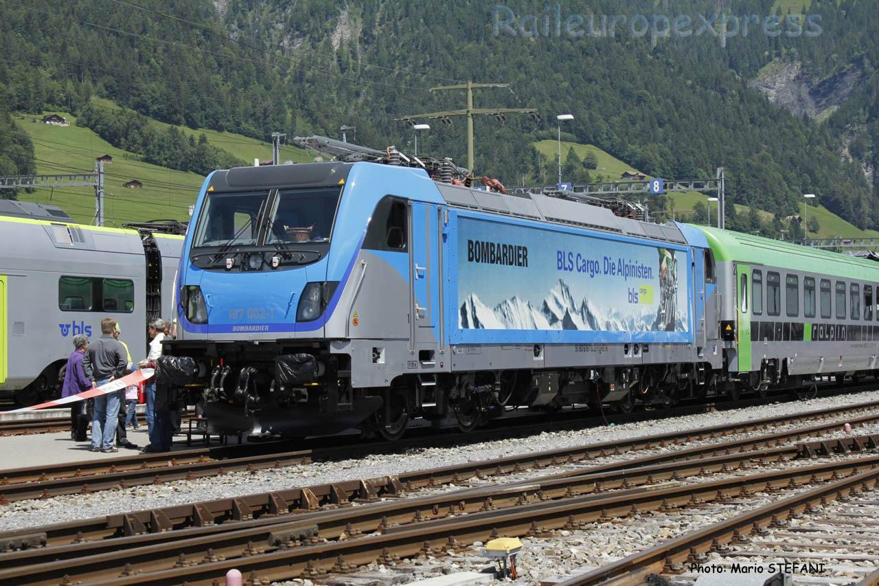 187 002-1 BLS à Frutigen (CH)