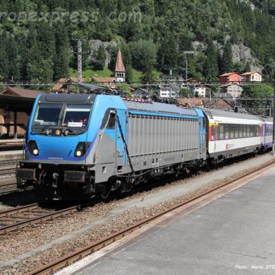 187 003-9 BLS à Goschenen (CH)