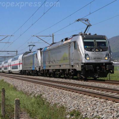 187 006-2 BLS à Bettlach (CH)