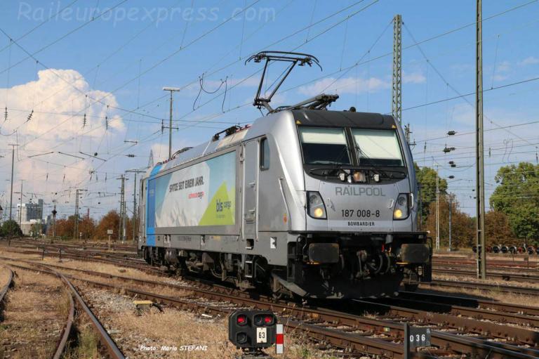 187 008-8 BLS à Basel (CH)