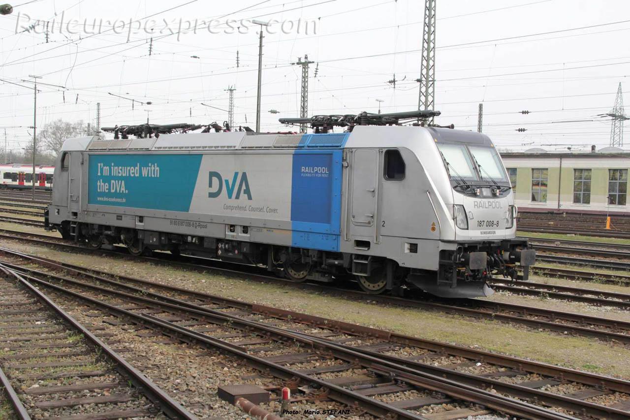 187 008-8 DVA à Basel (CH)