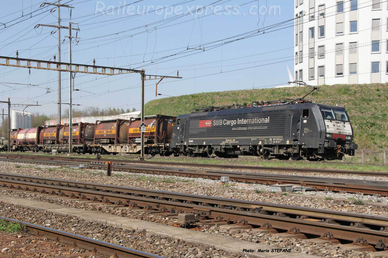 189 162-7 CFF à Pratteln (CH)