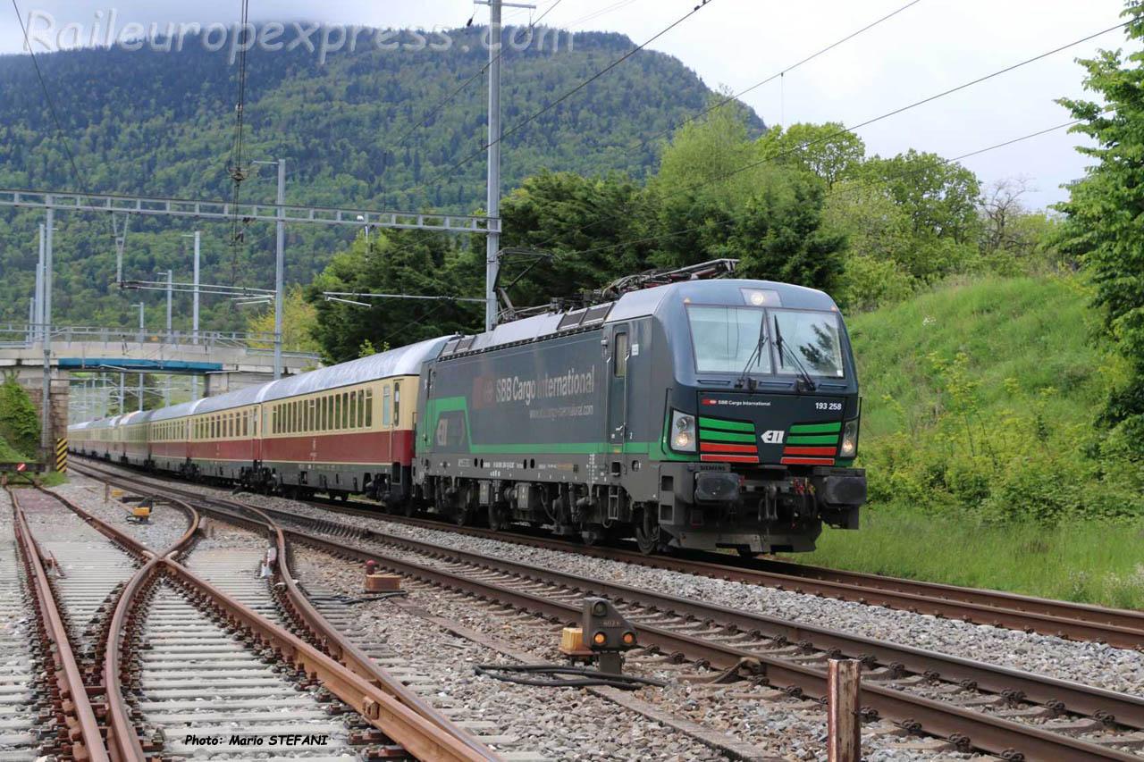189 258 CFF à Boudry (CH)