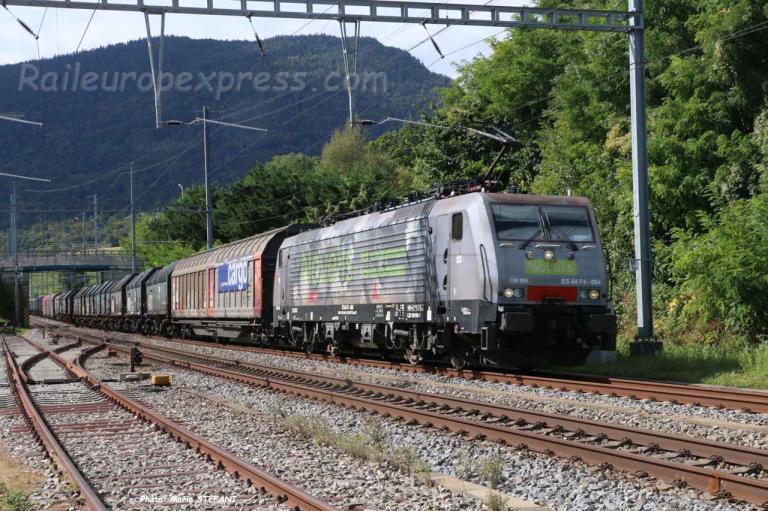 189 934-7 CFF à Boudry (CH)