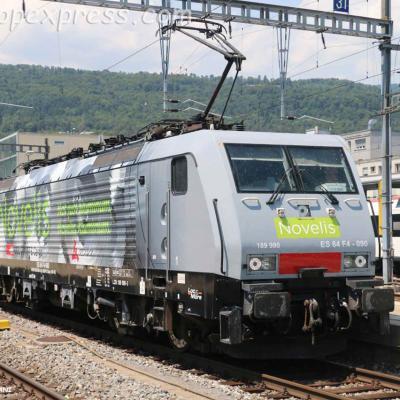 189 990 CFF à Bienne (CH)