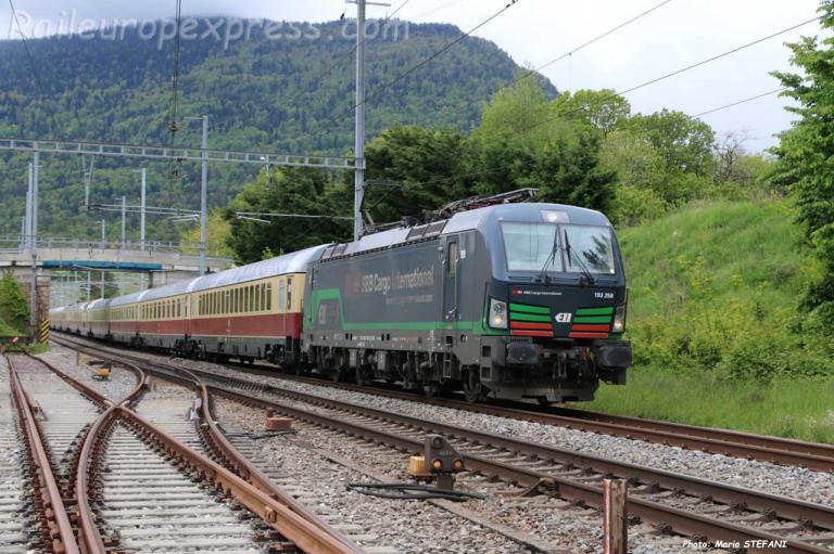 193 258 CFF à Boudry (CH)
