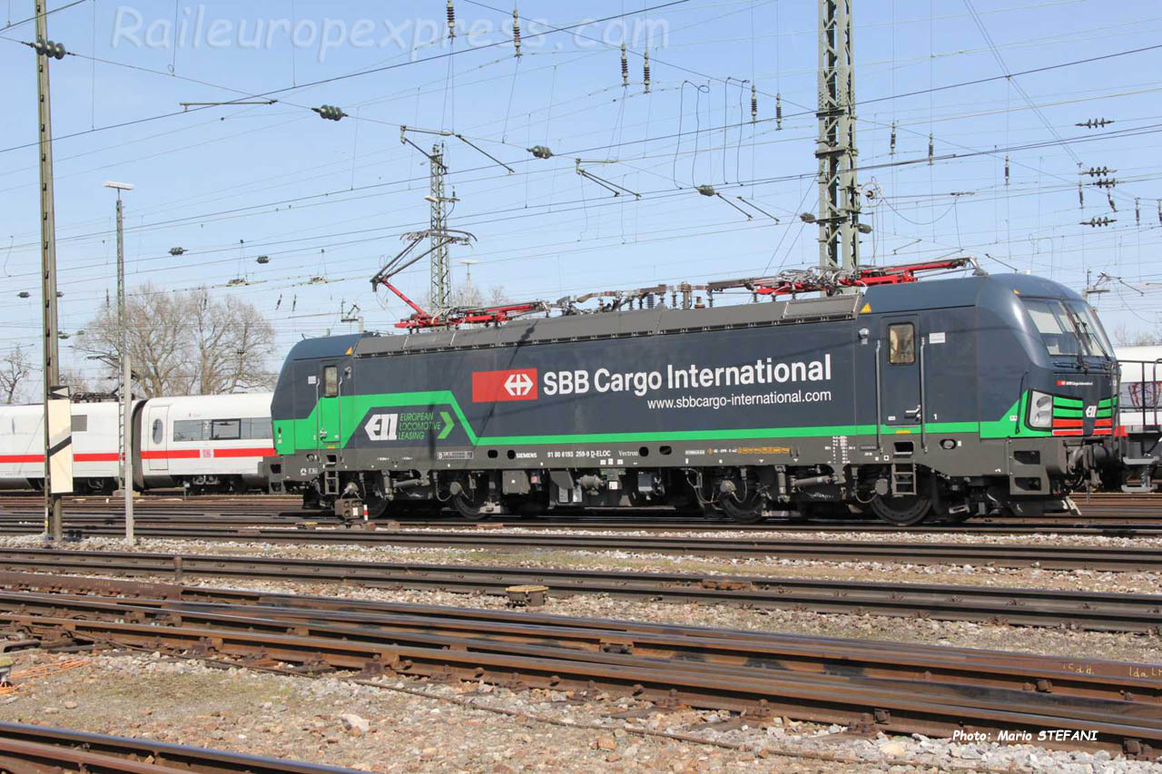 193 259-9 CFF à Basel (CH)