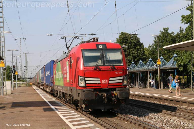 193 309 DB à Müllheim (D)