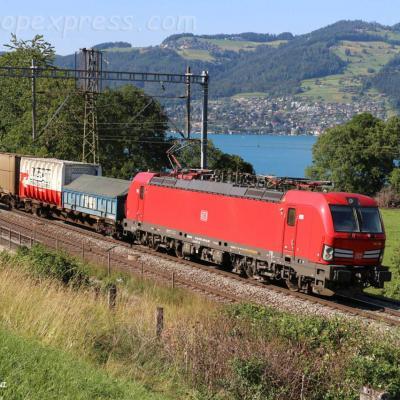 193 356 DB à Kumm (CH)