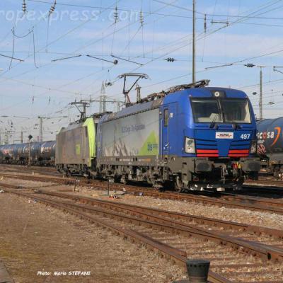 193 497-5 BLS à Basel (CH)
