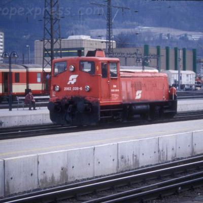 2062 026-6 OBB à Innsbruck (A)