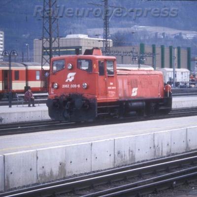 2062 026 6 OBB à Innsbruck